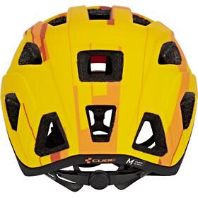 Cube Badger Casco, orange camo